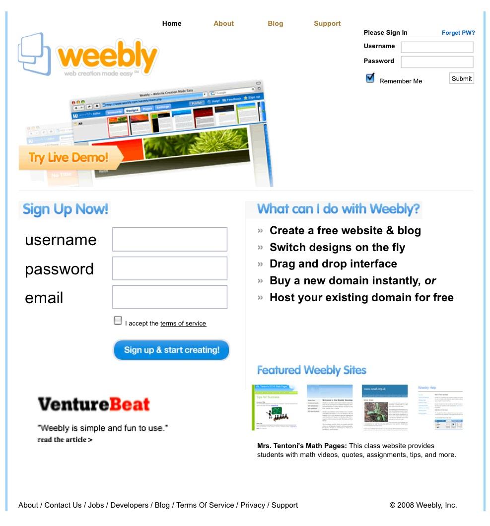 画像1: ウエブサイトとBlog 構築サイト- 無料