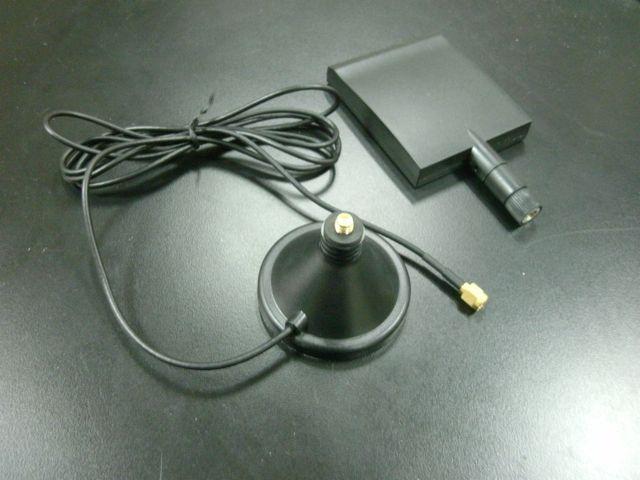 画像1: 2.4GHz 7dBi パネルアンテナ スタンド付き