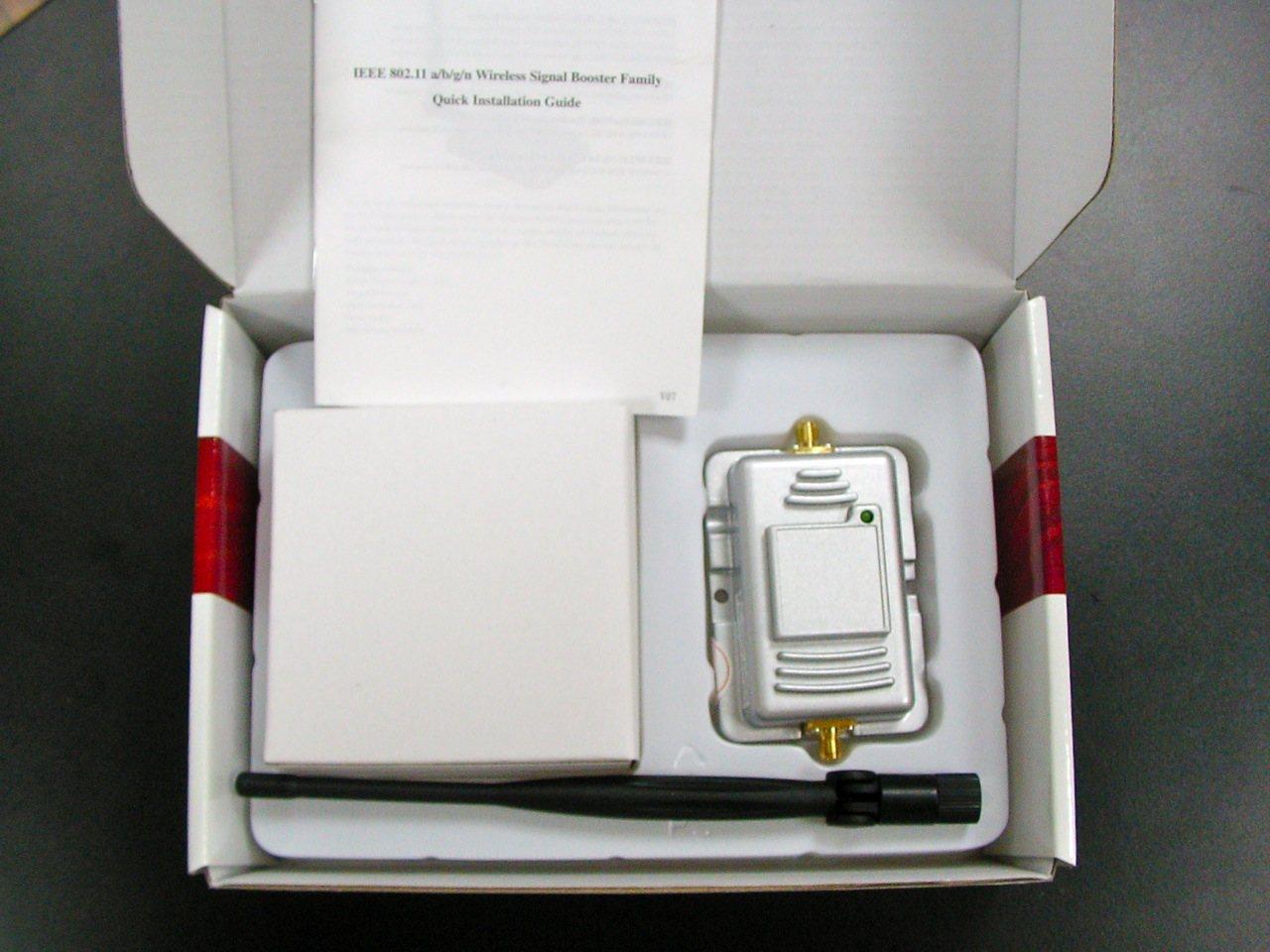 画像3: 2.4GHz WiFi ホットスポット用ブースター 1000 mW (+30 dBm)