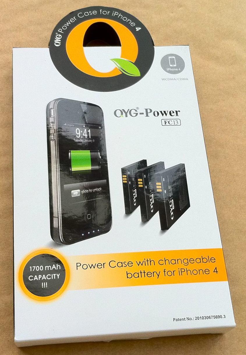画像1: iPhone4 用バッテリーケース付き保護ケース