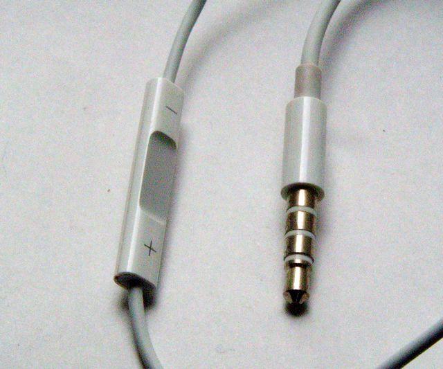 画像4: iPhone/iPod touch 用ヘッドセット、マイク付き