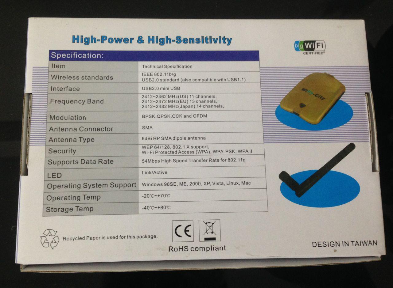 画像3: Wifly-City USB WiFi ハイパワー アダプター
