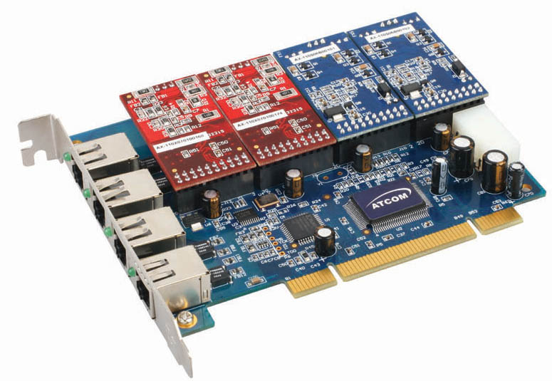 画像1: Asterisk用 FXO/FXS カード (TDM400P 互換)