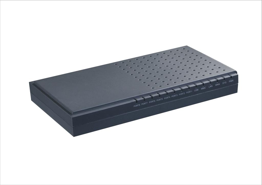 画像1: アスタリスク IP-PBX アプライアンス-アナログポート8個装備可能