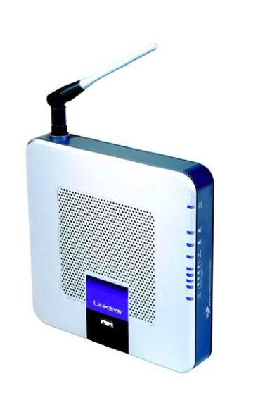 画像1: LINKSYS フォーンアダプター、2 FXS port 付き (再生品)