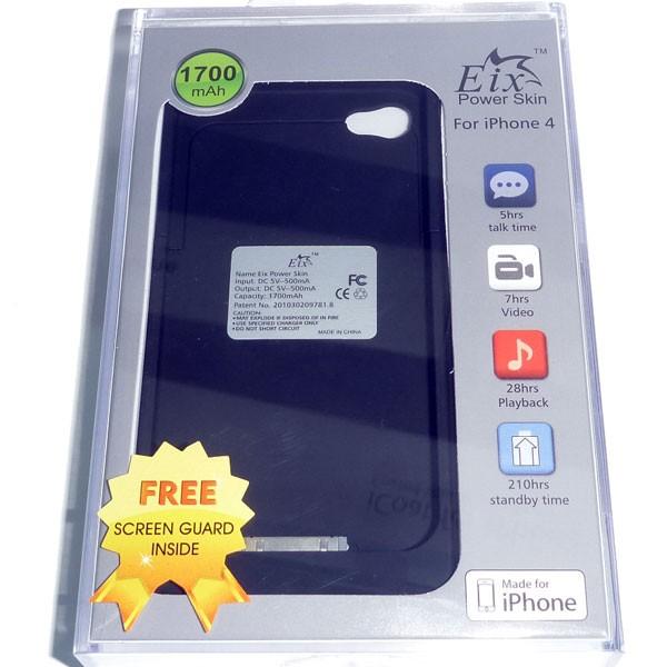 画像1: iPhone 4 用 バッテリーケース