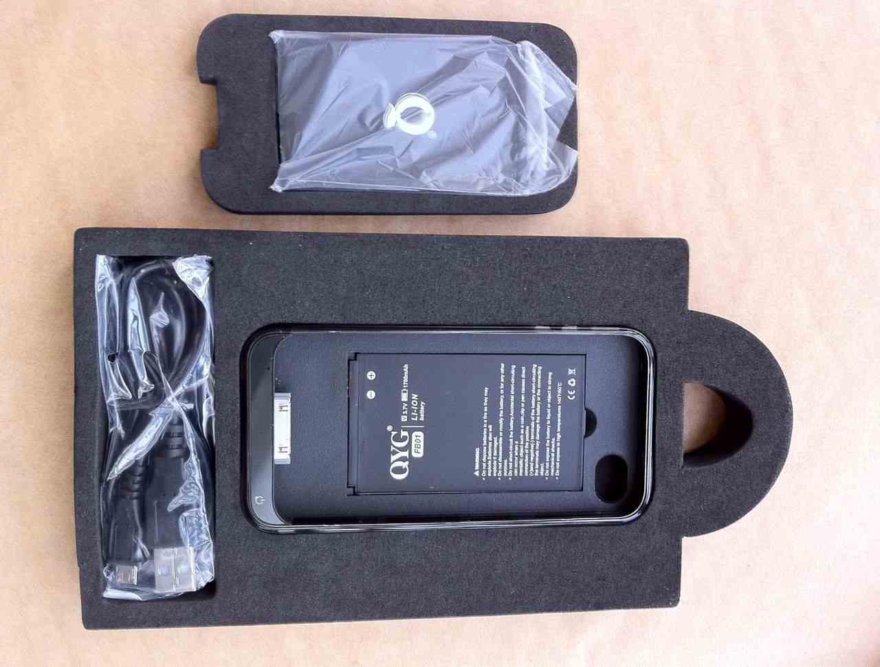画像5: iPhone4 用バッテリーケース付き保護ケース